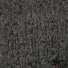Laine Mohair Coton Couleur noir et écru