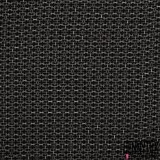 Fibrane Viscose Imprimé Motif chaîne fine crème Fond noir