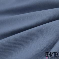 Gabardine Coton Couleur bleu indigo