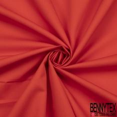 Gabardine Coton Mini Sergé Couleur orange sanguin