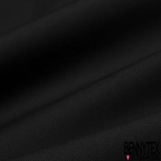 Gabardine Coton Mini Sergé Couleur noir