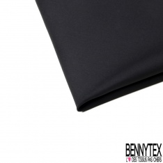 Popeline Coton Noir