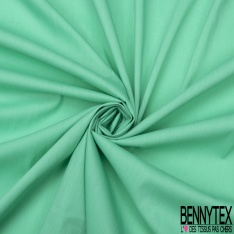 POPELINE VERT (Coton Polyamide Lycra)