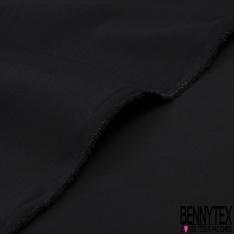 POPELINE NOIR (Coton Polyamide Lycra)