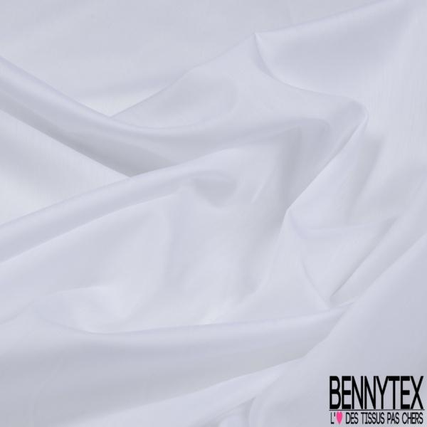POPELINE BLANC OPTIQUE (Coton Polyamide Lycra)