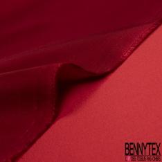 Satin Duchesse Acétate Couleur rouge cardinal