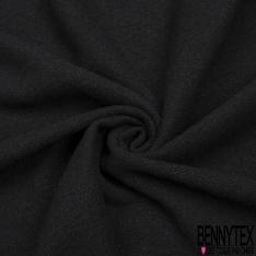 Laine Epaisse Gaufrée Noir