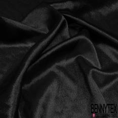 Crêpe georgette soie Métal noir