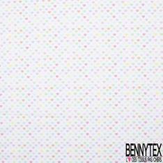 Coton imprimé Digital Thème Combi WW et Surf Bord de Mer fond Jaune Pastel