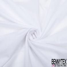 Voile de Coton Transparent Blanc Cassé