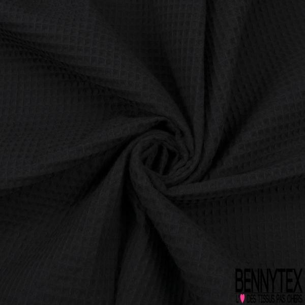 Coton Nid d'Abeille Noir