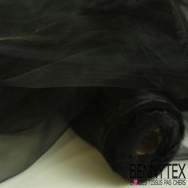 Organza Couleur Noir