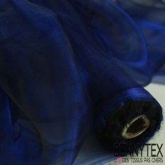 Organza Couleur Blue Noir