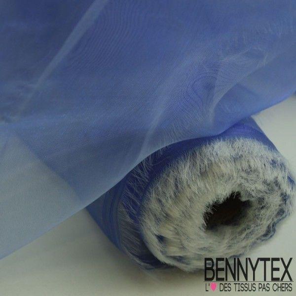 Organza Couleur Bleu Lavande