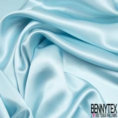 Satin de Soie 19 Momme Couleur Bleu Ciel