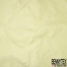 Taffetas de Soie sauvage Couleur Citron Vert Givré