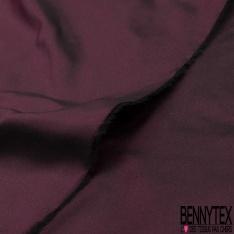 Taffetas de Soie sauvage Couleur Prune