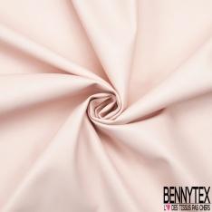 Simili Cuir Elasthanne matte Couleur rose clair