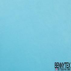 Simili Cuir Elasthanne matte Couleur turquoise