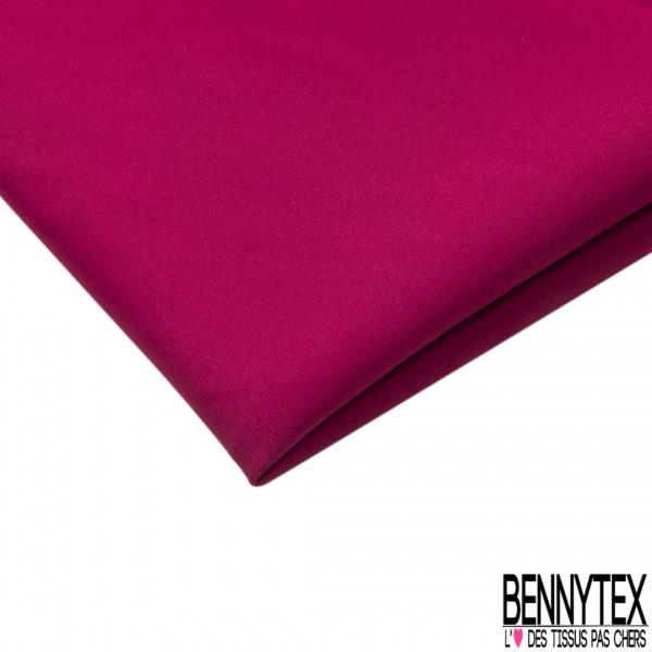 Coupon 3m Crêpe Polyester Elasthanne Uni Fuschia