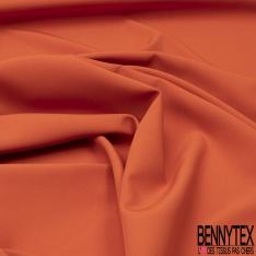 Coupon 3m Crêpe Polyester Elasthanne Uni Navy