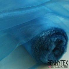 Organza Couleur Bleu