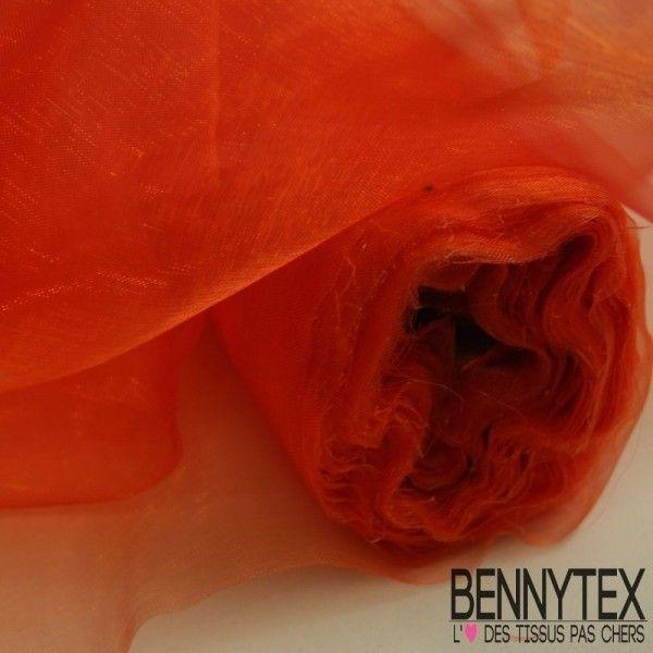 Organza Couleur Clementine