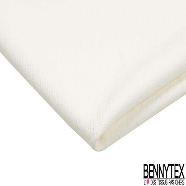 Crêpe Polyester Elasthanne Tailleur Uni Vermillon