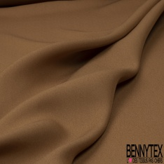 Crêpe de Chine Camel