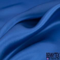 Satin de Soie 19 Momme Couleur Bleu Roi
