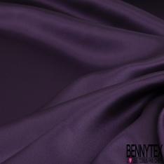 Satin de Soie 19 Momme Couleur Violet