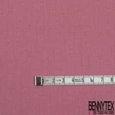 Coton Double Gaze Uni Rose Blush