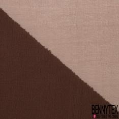 Mousseline de Soie Changeante Rouge Beige