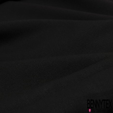 Coupon 3m Jersey Elasthanne Ottoman Noir