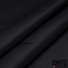 Doublure Polyester Coeur Blanc fond Marine