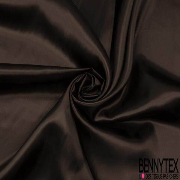 Doublure Satiné Chocolat