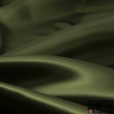 Doublure Acétate Satinée Lourde Vert Olive