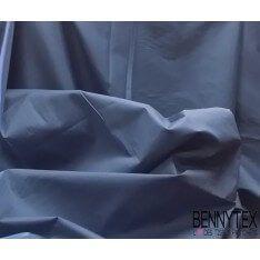Popeline Coton Bleu Indigo (Lycra) - QUALITE PREMIUM
