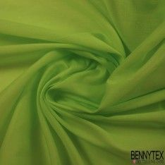 Voile de Coton Vert Anis