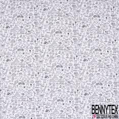 PUL de Jersey de Coton Imperméable à Colorier Imprimé Vir de Tous les Jours
