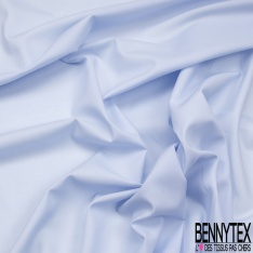 Voile de Coton Carreaux Ocre Nuit Lurex Turquoise fond Bleu Glacier