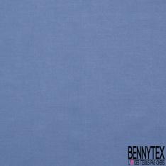 Voile de Coton Bleu Céruléen