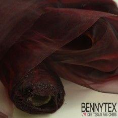 Organza Couleur Bordeaux