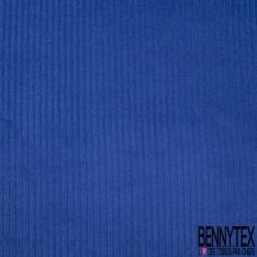 Velours Coton Côtelé Bleu Klein