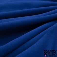 Molleton Léger Bouclette Bleu Klein Grande Laize
