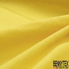 Coton Double Gaze Uni Bouton d'Or