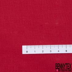 Lin Lavé Uni Rouge Chinois