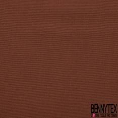 Pongé de Soie Uni Rouge Etrusque