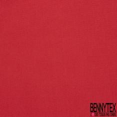 Pongé de Soie Uni Rouge en Flamme