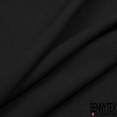 Coupon 3m Crêpe Polyester Viscose Elasthanne Uni Limousine